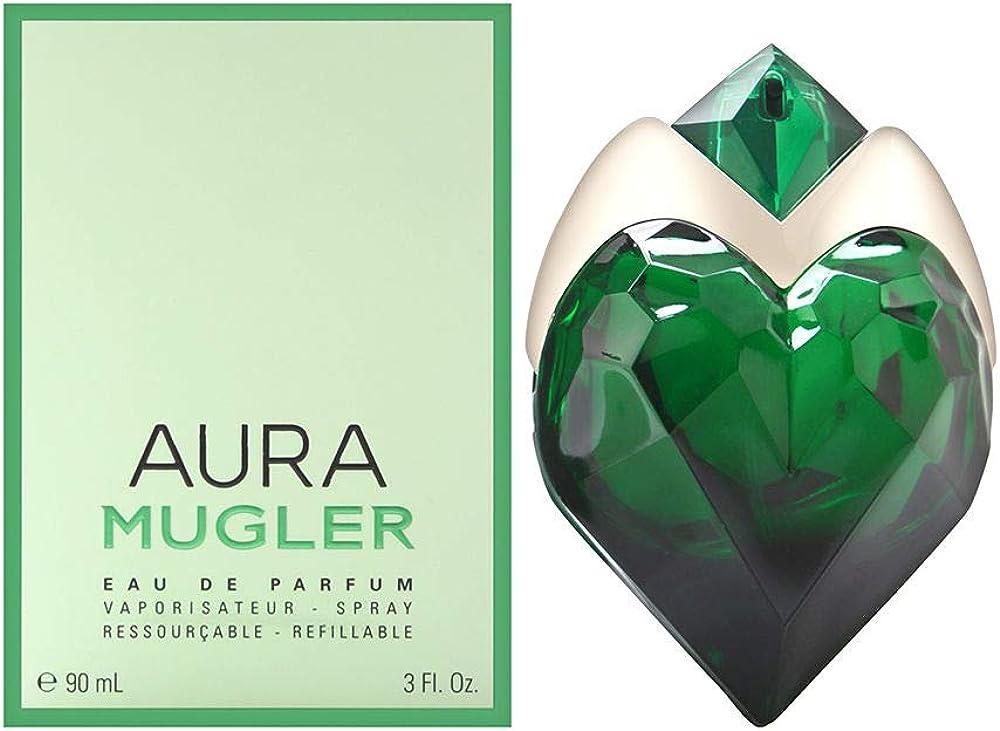 Thierry mugler aura, eau de parfum,profumo per donna ricaricabile - 90 ml Thierry Mugler Thierry Mugler