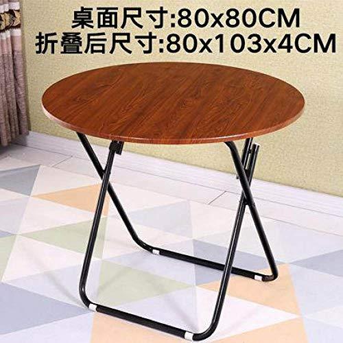 Eettafel LKU Opklapbare eettafel Eettafel Home Klein appartement Ronde tafel Royale tafel Eenvoudig, stijl 6