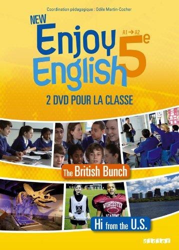 New Enjoy English 5e - Coffret 2 DVD classe