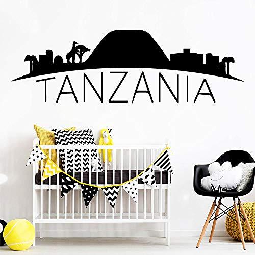 Adhesivo de pared de vinilo desmontable para niños, papel tapiz, accesorios de decoración del hogar, ventas directas S 20x63cm