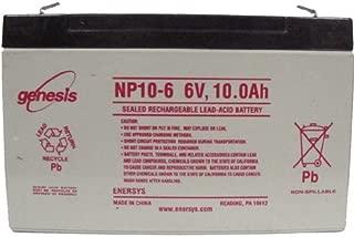 EnerSys Genuine NP10-6 6 Volt 10 Ah SLA GENESIS  NP Battery