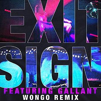 Exit Sign (feat. Gallant) [Wongo Remix]
