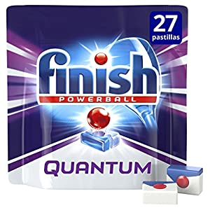 Finish Quantum Regular Pastillas para Lavavajillas – 16 + 6 pastillas