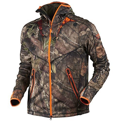 Härkila Fleecejacke Herren Moose Hunter - atmungsaktive Jagdjacke in Camouflage , Größe:XXL