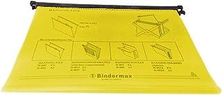ملف FC علاقي بلاستيك طويل لون أصفر عبوة 10 حبات من بايندر مكس H-001