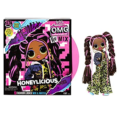 L.O.L. Surprise! O.M.G. Remix Honeylicious Fashion Doll– 25 Surprises with Music from MGA Entertainment