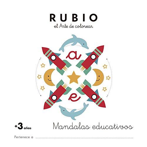 Mandala educativo +3 años: 1 (Mandalas Educativos RUBIO)