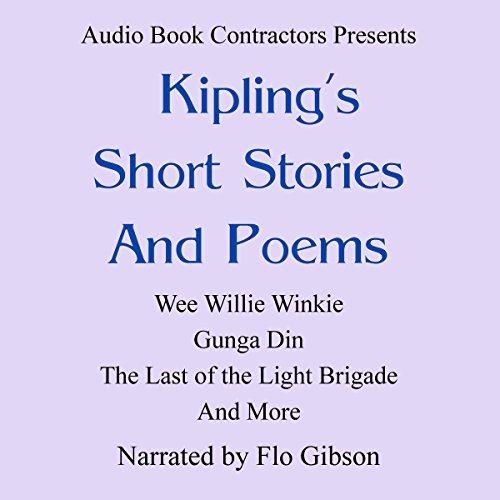 Kipling Short Stories and Poems Audiobook By Rudyard Kipling cover art