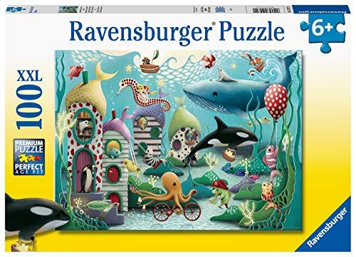 Ravensburger Underwater Wonders - Puzzle da 100 pezzi con pezzi extra grandi, per bambini dai 6 anni in su.