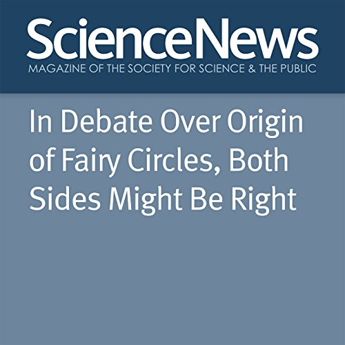 In Debate Over Origin of Fairy Circles, Both Sides Might Be Right cover art