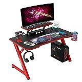 IntimaTe WM Heart Gaming Tisch 110cm, Ergonomischer Computertisch,...