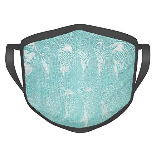 Comfortabel winddicht masker, schuim en zeep koolzuurhoudende schone verse hygiëne zuiverheid shampoo ontwerp, gedrukte gezichtsdecoraties voor volwassenen