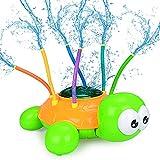 MMTX Tortuga Juguete de Agua de Rociador Juguete de Spray Juguetes de Jardín de Verano, Aire Libre Patio Trasero Fiesta Pulverización Juguetes para Rociar Agua para Niños , Niñas