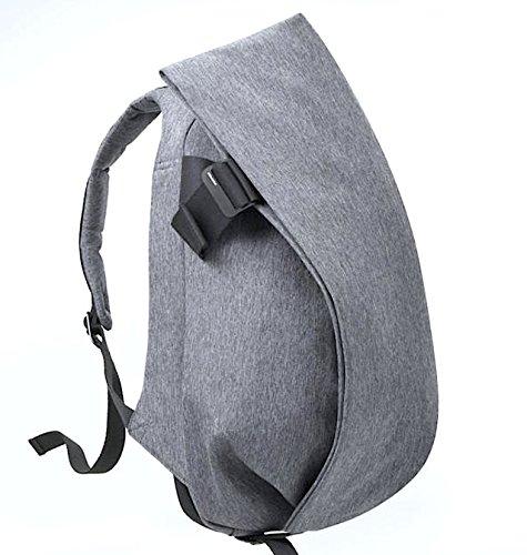 コートエシエル Laptop Rucksack/Mサイズ/(13-15インチ) ノートパソコン/Macbook 収納 リュック/バックパック [並行輸入品] Black Melange | CCLRS150-BML