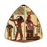 Posavasos Set de 6 posavasos para bebidas, posavasos antideslizantes con respaldo para taza de café, vino, botella de cristal para hogar y bar, Egipto antiguo