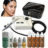 Best Airbrush Makeup Kits - Art of Air TAN Complexion Professional Airbrush Cosmetic Review