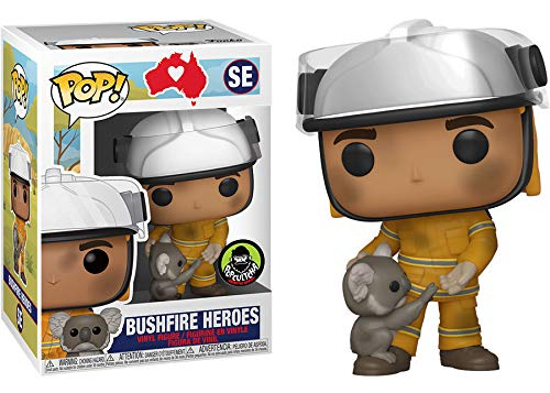 POP Funko Bushfire Heroes SE Australian Exclusive