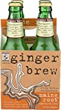 Maine Root Ginger Brew Soda, 12 Fl Ounce,...