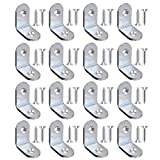 JIASHIQI Espesar Soportes angulares de Acero Inoxidable de 3 mm, Accesorios de...