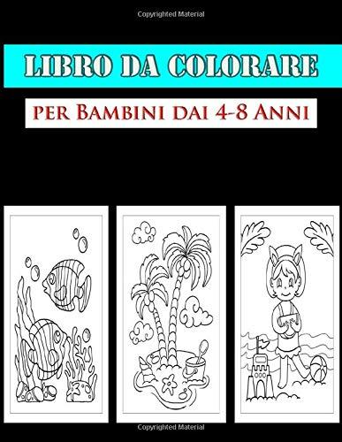 Libro da Colorare per Bambini dai 4-8 Anni: Il Mio Primo Grande Libro Da Colorare, oceani, sirene,creature marine ed isole : Libro da colorare per ... bambini | Un regalo magico per i più piccoli