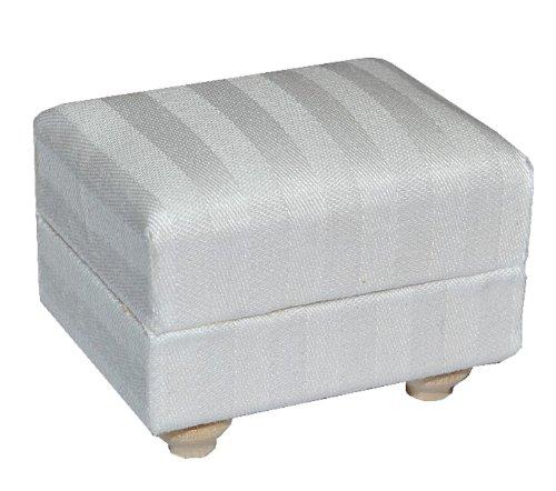 alles-meine.de GmbH Miniatur Couch Hocker / Sofa Hocker - für Puppenstube Maßstab 1:12 - Puppenhaus Puppenhausmöbel Sofasessel Wohnzimmer Klein