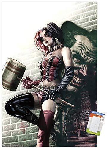 51mKFgan81L Harley Quinn DC Comics Posters