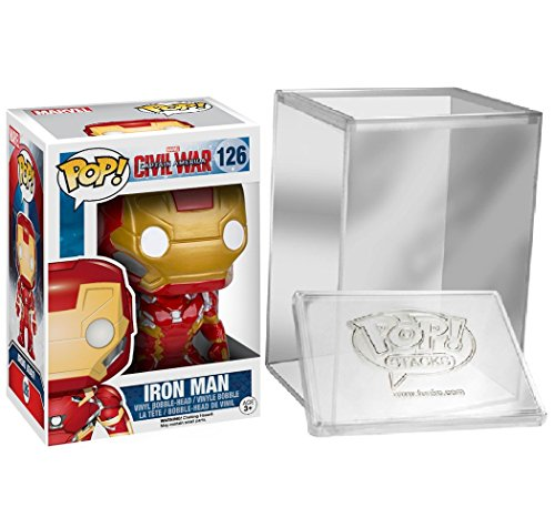 Funko POP!: Marvel: Captitán América: Civil War: Iron Man