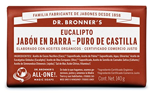 Jabón Corporal Barra marca Dr. Bronner's