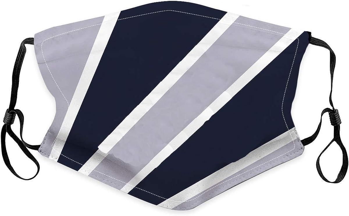 Bestring 4PCS Cloth Face Bandanas Reusable Washable Cotton Face Protection Adjustable for Women Men Kids