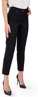 FEMME Premium Damen-Hose Perfekt für Herbst Frühling Büro und Freizeit passt zu Bluse klassischen Hemden und Blazer in 7/8-Länge