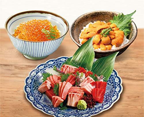 【極上本まぐろ贅沢盛り+いくら500g+うに100g】くら寿司 無添加 まぐろ 刺身 海鮮 手巻き寿司 丼 本マグロ 大トロ 中トロ 赤身 タタキ いくら うに