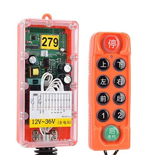 H23-C++ resistente de los humos de la soldadura del control remoto industrial inalámbrico voltaje completo para el control inalámbrico (12V-36V)