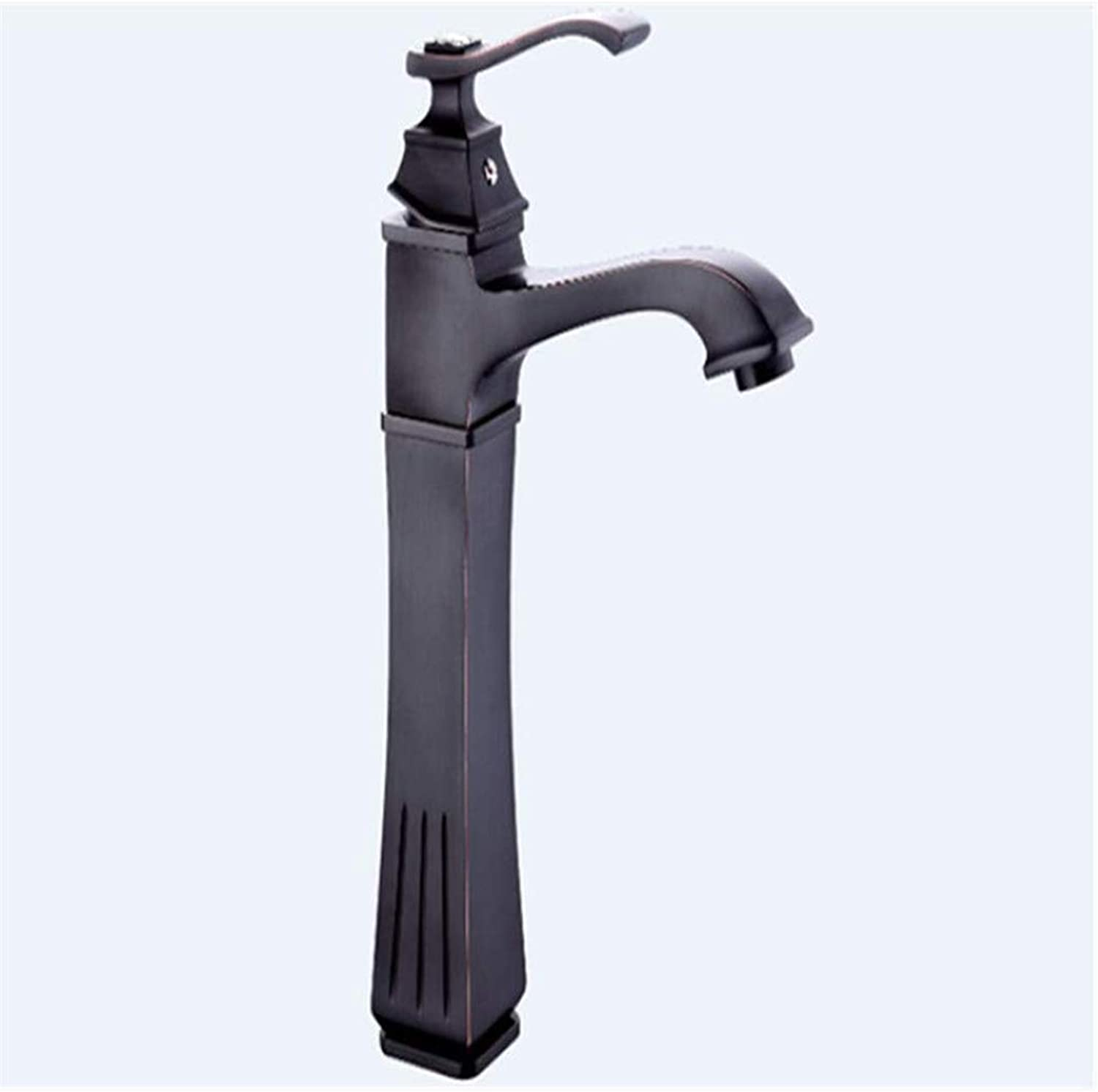 Modern Double Basin Sink Hot and Cold Water Faucet Faucet Basin Faucet Single Hole Mixed Water Hot and Cold Bathroom Kitchen Basin Faucet