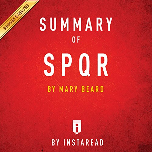Summary & Analysis of SPQR, by Mary Beard audiobook cover art