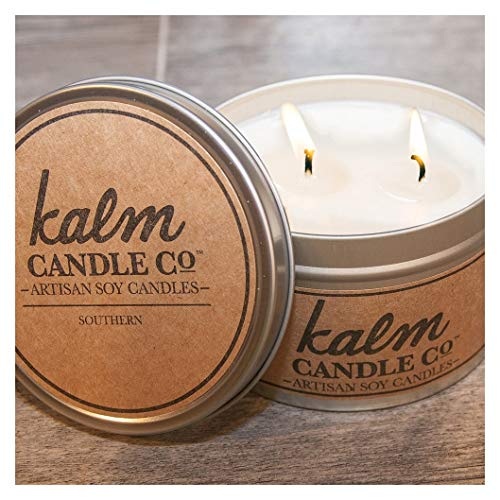 The Candle Cottage KC104 Kalm Collection Tin Candle, 12 Oz (Southern)