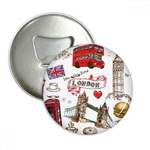 Imán Londres  marca DIYthinker
