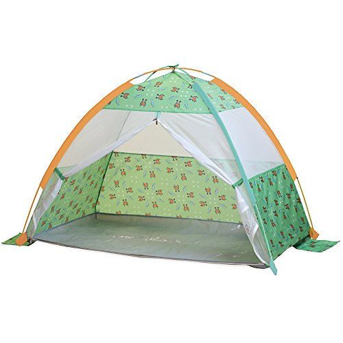 Pacific Play Tents 19001 Kids/Infants Under The Sea Cabana with Zippered Mesh Front, 60' x 35'...