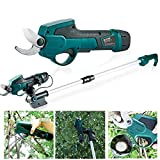 Pruning Shears,Professional Cordless Electric Pruning Shears with 2 Pack Lithium Battery Powered Tree
