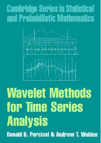Wavelet Methods for Time Series Analysis (Cambridge Series in Statistical and Probabilistic Mathematics) by Donald B. Percival Andrew T. Walden(2006-02-27)