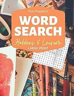Word Search: Hobbies & Leisure Volume 1: 8.5