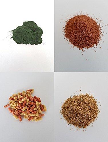 MK-Versand Triops Futterpaket Algen Hauptfutter Jungtierfutter Zuchtfutter Daphnien 40 Gramm