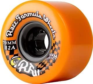 Sector 9 Race Formula Center-Set Skateboard Wheel, Orange, 70mm 82A