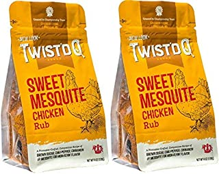 Twist'd Q - Sweet Mesquite Chicken Rub - American Royal - 2 Pack