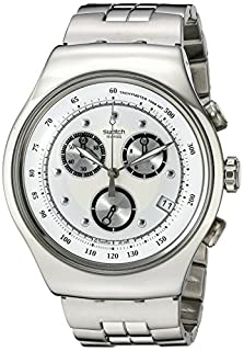 Swatch Men's YOS401G Chrono Wealthy Star Silver Dial Watch (B000YI4EBY) | Amazon price tracker / tracking, Amazon price history charts, Amazon price watches, Amazon price drop alerts