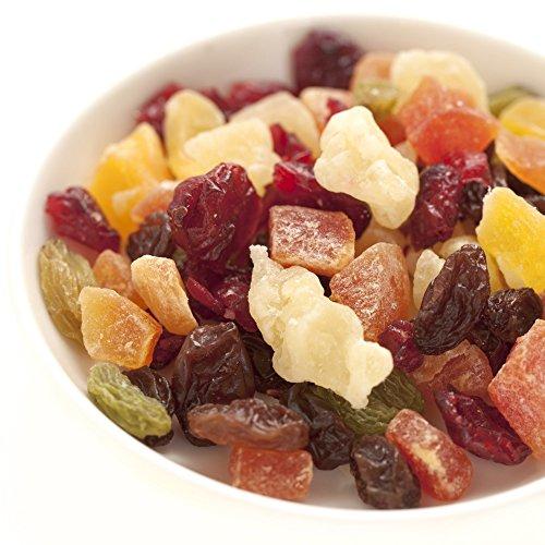 トロピカルフルーツミックス 2kg (1kg x 2) ドライフルーツ( パイン パパイヤ マンゴー クランベリー レーズン グリンレーズン)