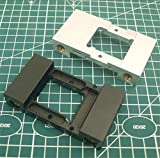 XBaofu 1pc replicador de Plata 3D Impresora/Negro de Aluminio anodizado extrusora de un Solo Carro...
