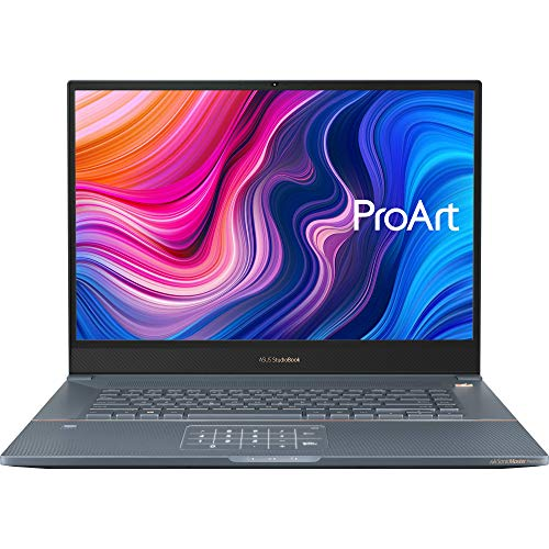 "ASUS ProArt StudioBook Pro 17 Mobile Workstation Laptop, 17"" WUXGA NanoEdge Bezel, Intel Xeon E-2276M, 32GB ECC DDR4, 2TB PCIe SSD, Nvidia Quadro RTX 3000, Windows 10 Pro, W700G3T-XH99, Turquoise Gray"