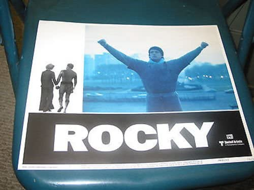ROCKY Manufacturer regenerated product ORIG. 11X14 LOBBY CARD STALLONE Opening large release sale SET SYLVESTER