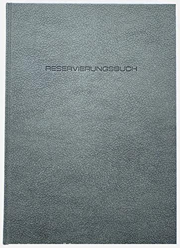 ADINA Dickes Reservierungsbuch A4 1 Seite pro Tag + FR/SA/SO 2 Seiten pro Tag (grau, 2020)