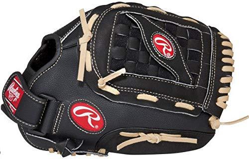 Rawlings PM110BCB Baseballhandschuh für Linke Hand fangen, LHC, 11 Inch, Schwarz…